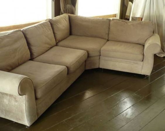 Pottery Barn Pearce 2 Piece Sectional In Everyday Suede   $450 (millington)  | Craigslist | Pinterest | Interior Inspiration, Barn And Interiors