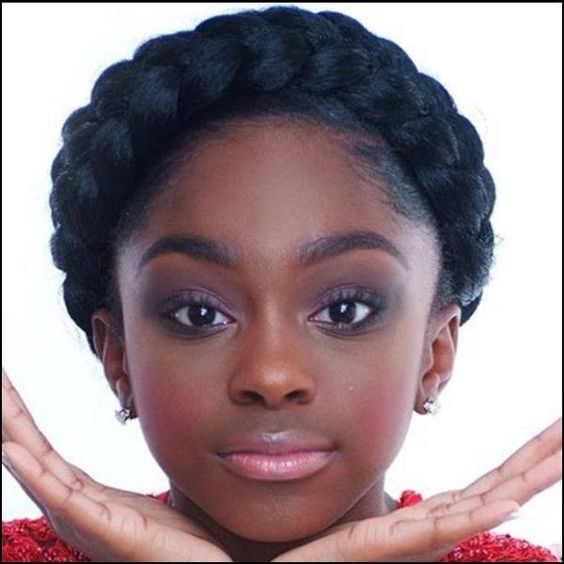 Miraculous Crown Braids Halo Braid And Crowns On Pinterest Short Hairstyles For Black Women Fulllsitofus