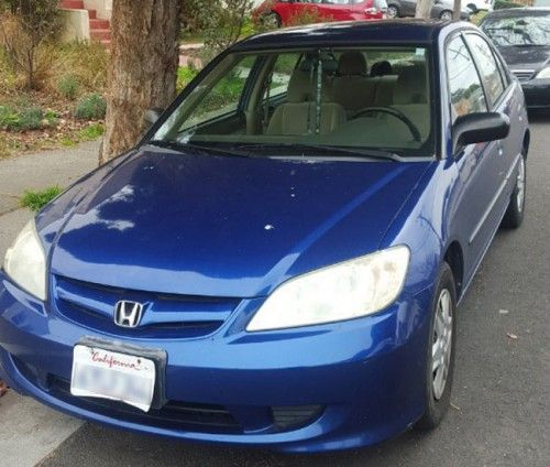 2005 Honda Civic Sedan For Sale Under 2000 In Richmond California Ca Honda Civic Sedan Honda Civic 2005 Honda Civic