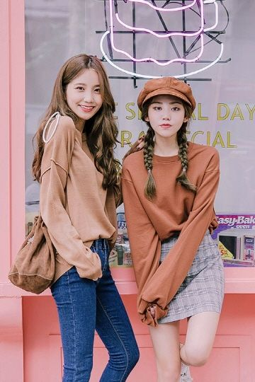 Cropped Confidence Sweatshirt | Korean Fashion: