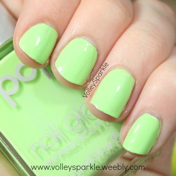 Pop Beauty Nail Glam Nail Polish Loud Lime | Review & Swatches ...