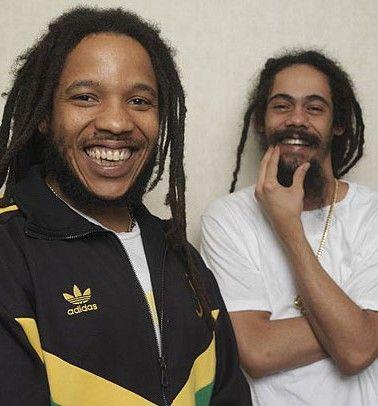 Stephen and Damian Marley