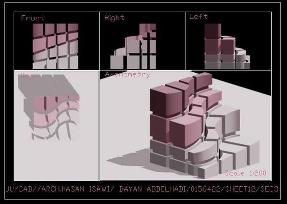 Bayan Abd Elhadiالرسم المعماري بالحاسوب/ computer architectural drawing: