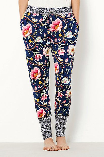 I love these pants. They aren't sweatpants so they won't be too warm in the summer but they aren't yogas either so they aren't so tight fitting. Plus they have a fun print!