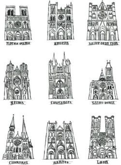 Roman nantes and art on pinterest for Architecture romane et gothique