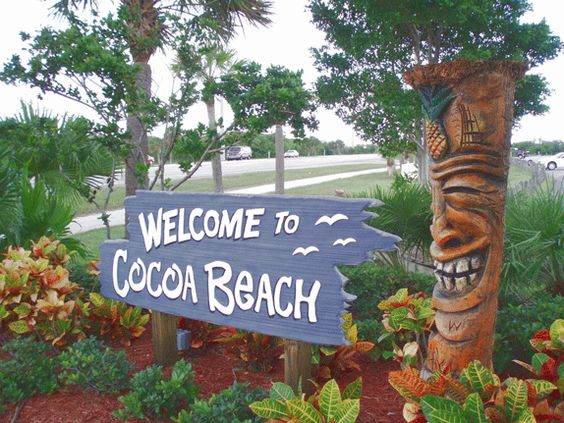 Cocoa Beach, Florida Absolutely one of our favorite places. We had the best, most relaxing, romantic vacation there!