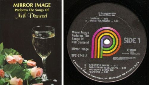 Mirror Image / The Songs of Neil Diamond / 1980 / Pickwick SPC-3747 / Stereo LP ($7.00)
