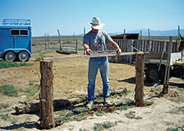 Easy DIY: How to Build a Hitching Post - Farm And Garden - GRIT Magazine