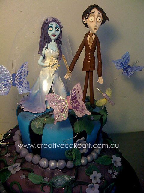 creative cake art wedding cakes (61) by www.creativecakeart.com.au, via Flickr