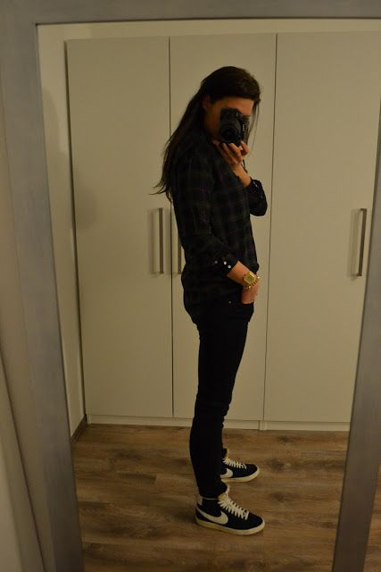 vavavabroom: DIXSEPT - Plaid & Nike-Blazer
