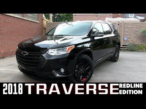 2018 Traverse Redline >> All New 2018 Chevrolet Traverse Premiere Redline Edition
