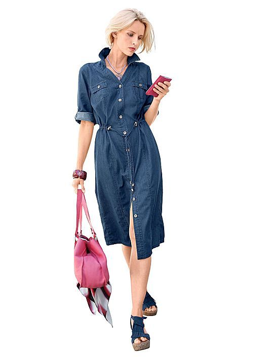 Sold out :(  BLUE STONE Denim dress from Creation L