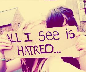 No more haters ... Hating is stupid