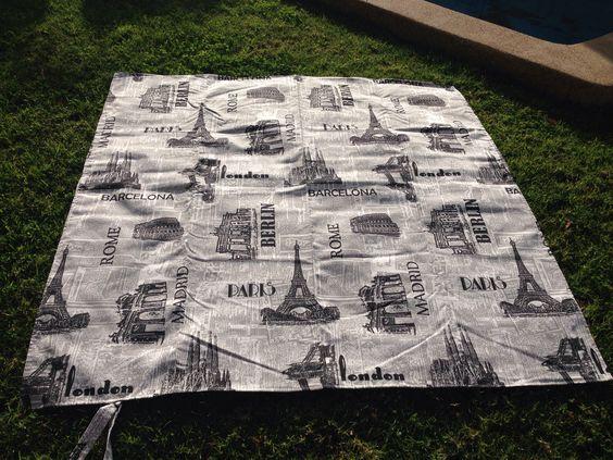 """Carpeta para picnic. """"Europa"""""""