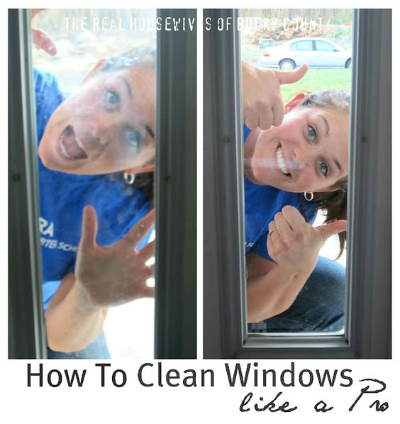 cleaning window tips