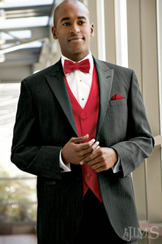 Prom tuxedos ideas red