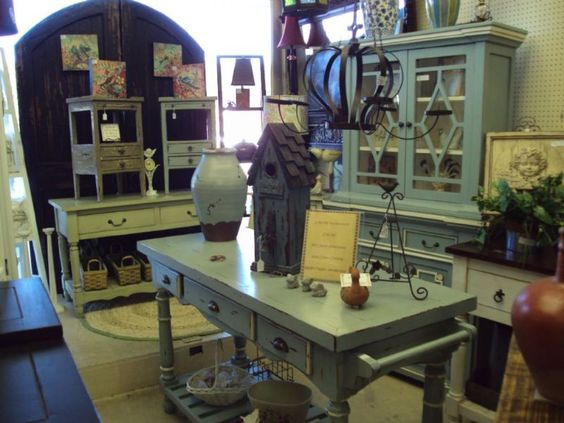 Eastbrook Antique Mall - it's a great place to treasure hunt for character pieces to add to new furniture or to find the perfect work island for your kitchen.