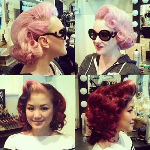 Pin On Rockabilly Style Hair