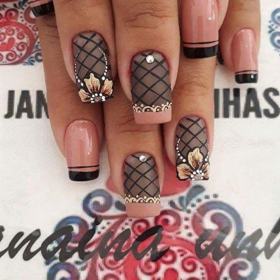 fall #unhasdecoradas #unhasdecoradas #acrylicnails