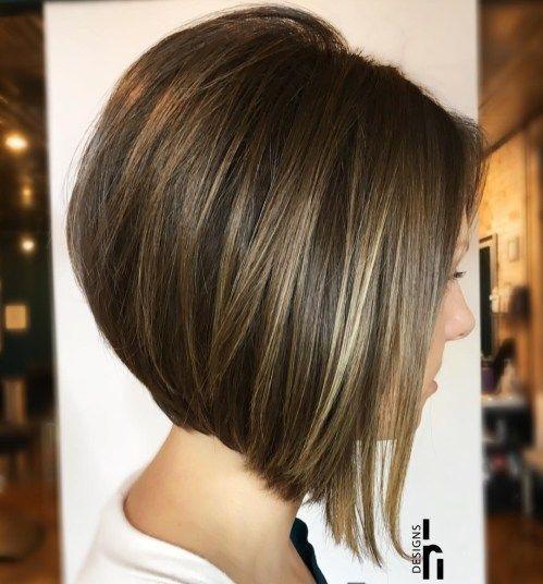 50 Trendy Inverted Bob Decotes Coupe De Cheveux Coiffure Carre Plongeant Carre Plongeant Cheveux
