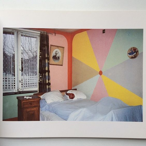 """""""Colour in decoration. Belgium. 1981. From the Francois Hers and Sophie Ristelhueber book Interieurs. Some of the flattest photos ever! Email if you want@idea-books.com #interieurs #francoishers #sophieristelhueber #1981"""" Photo taken by @ideabooksltd on Instagram, pinned via the InstaPin iOS App! http://www.instapinapp.com (06/07/2015)"""