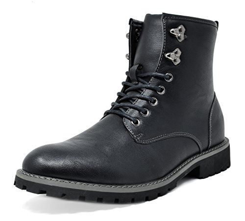 Nice Bruno Marc Men S Stone 01 Black Motorcycle Combat Dress Oxford Boots Size 12 M Us Oxford Boots Ankle Boots Dress Chelsea Ankle Boots