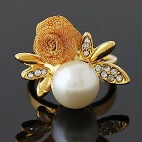 Wei Hua Elegant Lady Elegant Pearl Ring