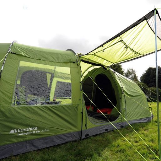 The Eurohike Buckingham Elite 8 man tent is perfect for