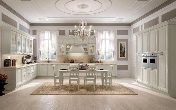 Cucina bianca classica | Cucina | Pinterest