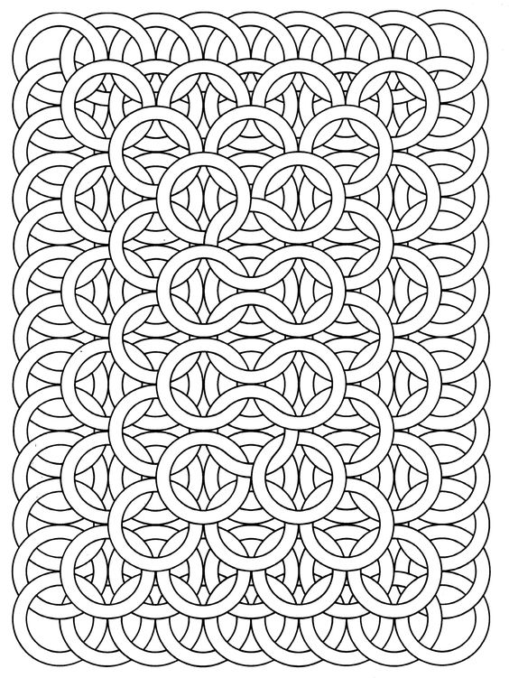 vasarely coloring pages - photo#24