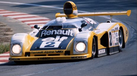 Didier Pironi-Jean-Pierre Jaussaud - Alpine-Renault V6 - Le Mans 1978