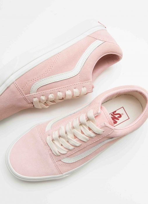 c289e614a83131 ~ FOLLOW US   PEPPERMAYO ~ For more cuteness and daily fashion Inspo!  Old  Skool Herringbone Lace Sneaker - English Rose + Marshmallow