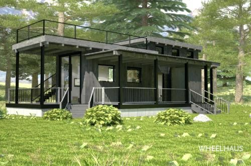 Modern Tiny House Flat Roof Caboose Modern Tiny Houses For Sale In Florida Processcodi Com Modern Tiny House