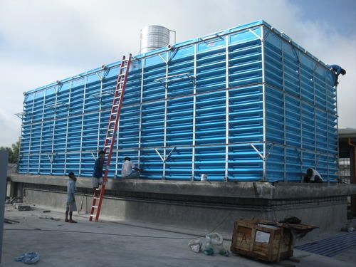 Frp Cooling Tower Frp Square And Round Cooling Tower