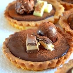 Forest Gump Chocolate Tartelette by Aniko