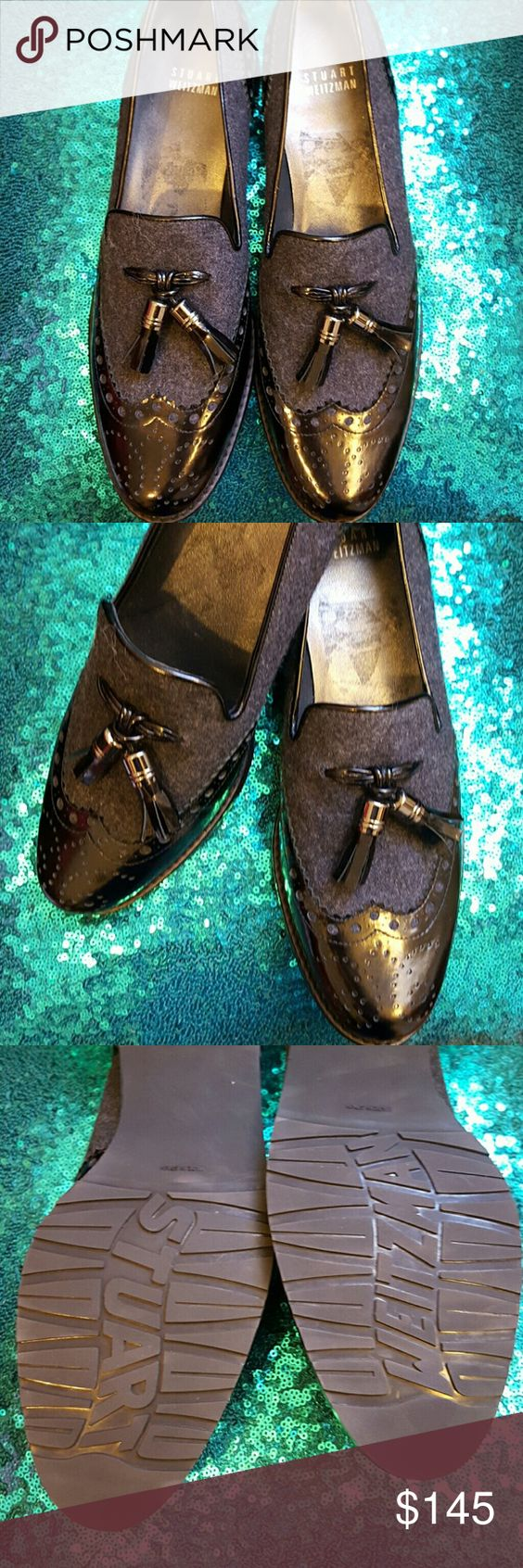 Stuart Weitzman Shoes size 8 m Used only once Stuart Weitzman shoes Stuart Weitzman Shoes Flats & Loafers