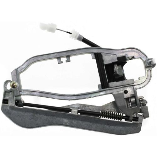 2000-2006 BMW X5 Front Door Handle RH, Outside, Carrier, W/ Base And ...