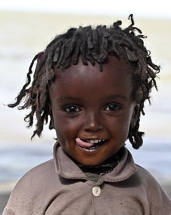 Ethiopian little girl