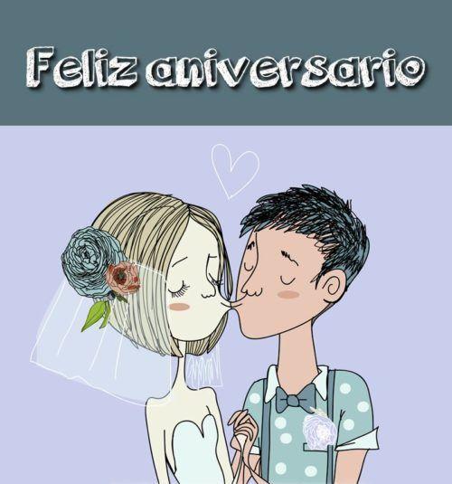 Imagenes De Aniversario Con Frases Y Palabras Para Dedicar Happy Anniversary Wishes Happy Anniversary Ecard Meme