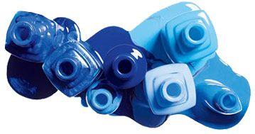 Blue nail polish <3
