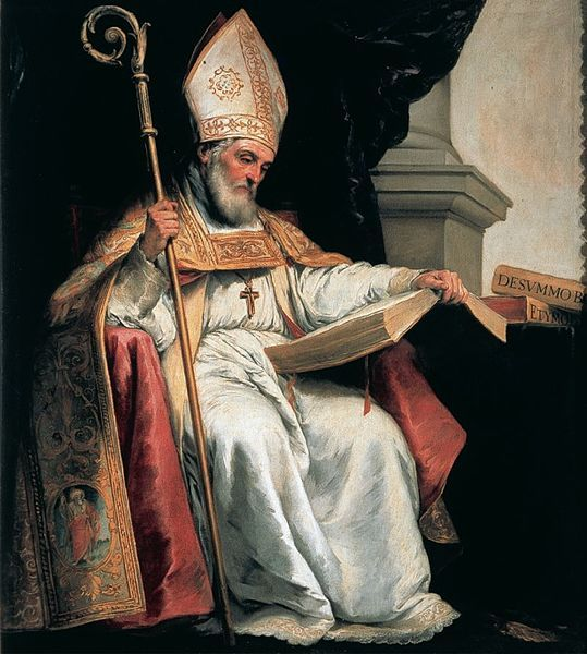 Saint Isidore of Seville by Bartolomé Esteban Murillo, 1655