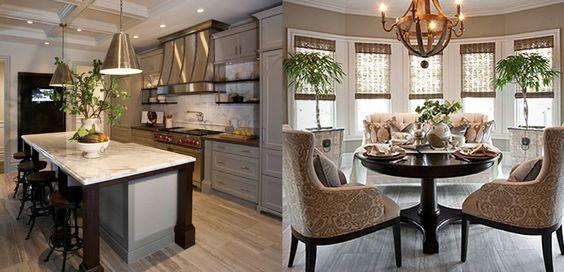 Nam Dand-Mitchell: Decor Kitchens, Kitchen Pendants, Breakfast Room, Color Palette, Kitchen Islands