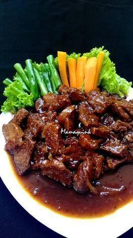 Resep Bistik Sapi : resep, bistik, Resep, Bistik, Daging, Mamaquink, Resep,, Makanan,, Masakan