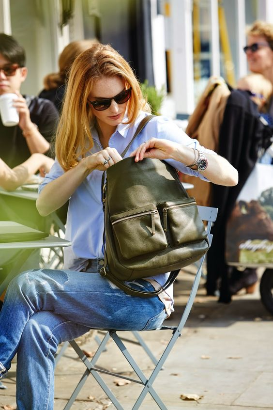 That's Not My Age: Win a gorgeous leather Village England bag