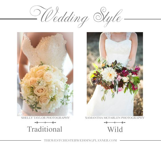 Wedding flowers. The Westchester Wedding Planner Blog. Wedding bouquet. Traditional flowers or something wild?