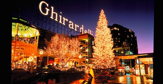 Ghirardelli Square | Travel | Vacation Ideas | Road Trip | Places to Visit | San Francisco | CA | Shopping Area | Plaza | Tourist Attraction
