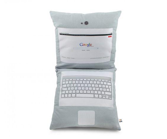Laptop Kissen mit Deinem Foto