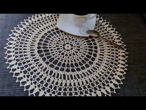 Serwetka Szydelkowa 39 Cm Youtube Make It Yourself Crochet Blog