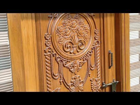 Damu Wood Work Youtube Front Door Design Wood Main Entrance Wooden Doors Front Door Design
