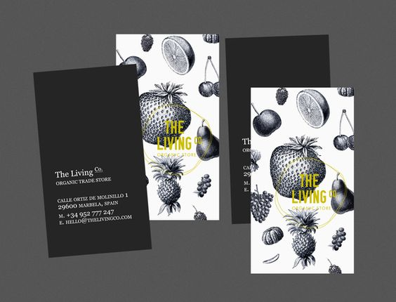 The Living Co. by Big Horror Athens , via Behance